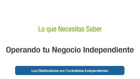Los Distribuidores son Contratistas Independientes (Argentina)