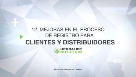 Mejoras en el proceso de registro para Clientes y Distribuidores