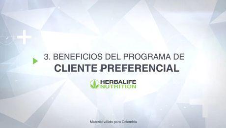 Beneficios del Programa de Cliente Preferencial