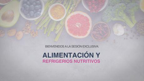 Sesion Alimentacion y Refrigerios Nutritivos