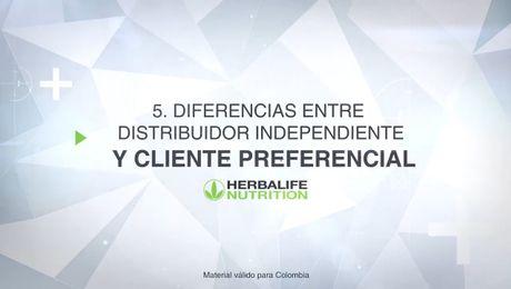 Diferencias entre Distribuidor y Cliente Preferencial