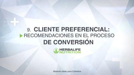 Cliente Preferencial: Recomendaciones conversión