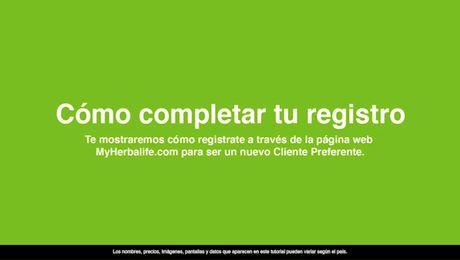 Registro en línea para Clientes Preferentes