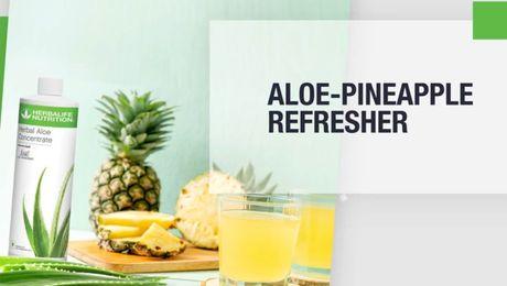 Aloe Pineapple Refresher