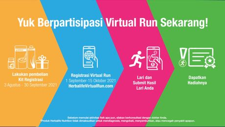 Herbalife Nutrition Virtual Run 2021