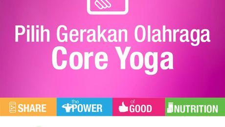SPGN 2021 - Panduan Latihan Core Yoga