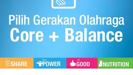 SPGN 2021 - Panduan Latihan Core & Balance