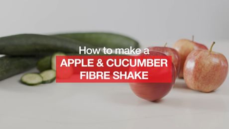 Asian Recipe - Apple & Cucumber Fibre Shake
