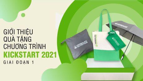 Qùa tặng Chương trình KICKSTART 2021 - Giai đoạn 1
