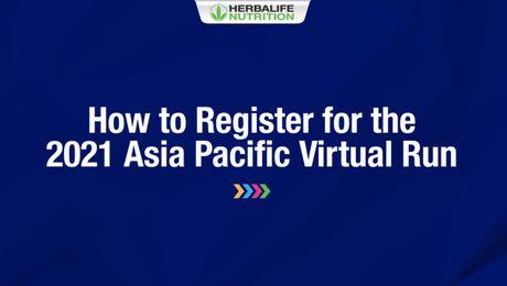 2021 APAC Virtual Run - How to Register