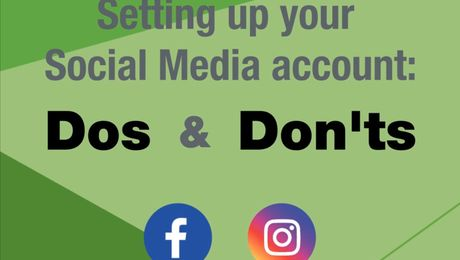Setting up your Social Media account: Dos & Don'ts