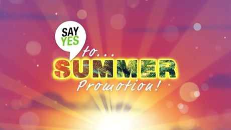 Track your progress - Say Yes To Summer Promotion