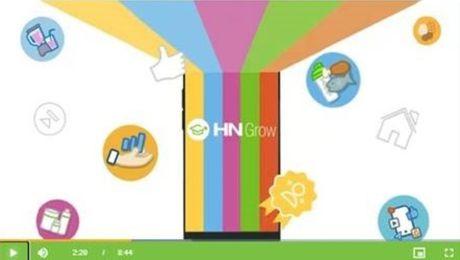 Представление нового инструмента для обучения –  приложения HN Grow