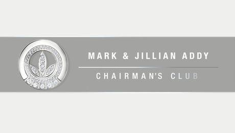 New Chairman's Club Members: Mark & Jillian Addy