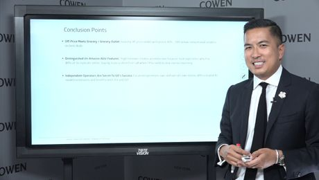 Cowen's Thoughts On Grocery Outlet | Oliver Chen | 7/3/19