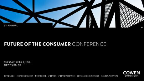 Cowen's 5th Future of the Consumer Conference