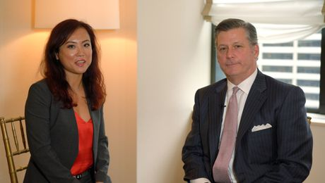 Cowen Interview | Lucy Guo & Mac Curtis, President & CEO of Perspecta