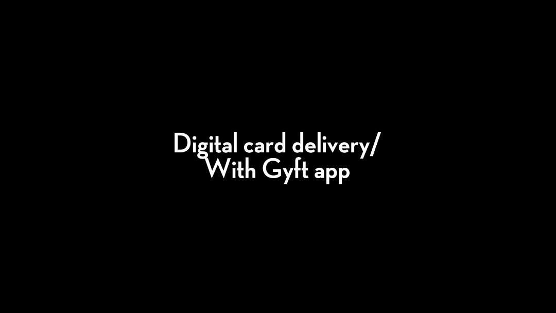 Clover Clips: Gift Cards - Digital card delivery: With Gyft app