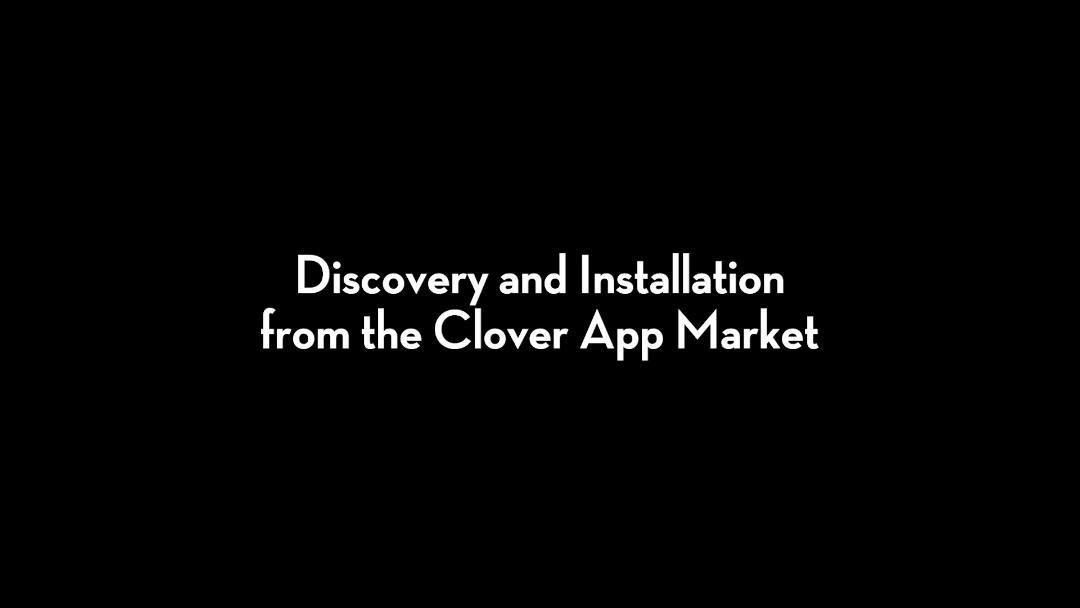 Clover Clips: Gift Cards - Discovery and Installation from the Clover App Market