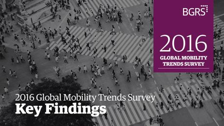 2016 Global Mobility Trends - Key Findings