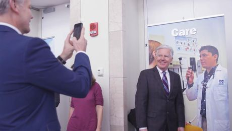 On Campus: President Meehan visits UMass Boston