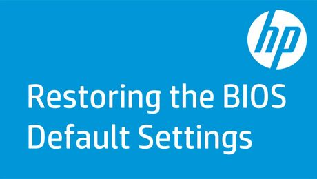 Restoring the BIOS Default Settings