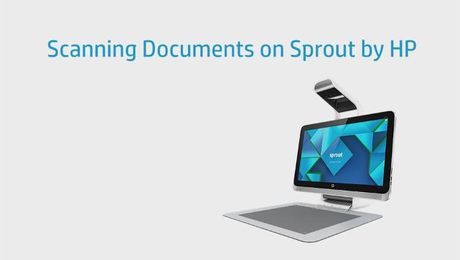 Scanning Documents on Sprout by HP