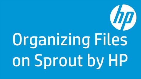 Organizing Files on Sprout by HP