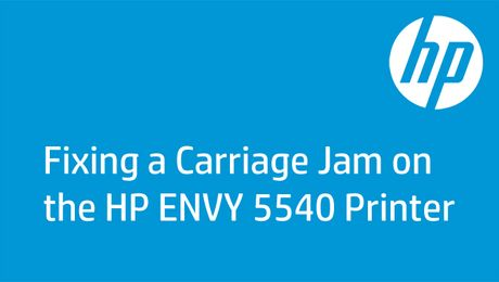 Fixing a Carriage Jam on the HP ENVY 5540 Printer