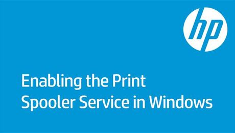 Enabling the Print Spooler Service in Windows