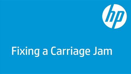 Fixing a Carriage Jam on the HP DeskJet 3700 Printer Series