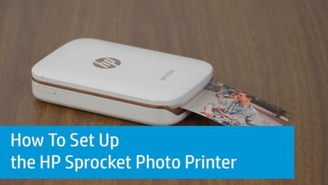 How To Set Up the HP Sprocket Photo Printer