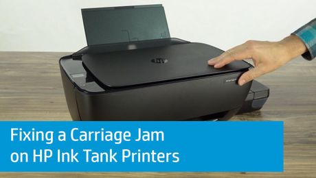 Fixing a Carriage Jam on HP Ink Tank Printers