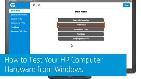 How to Test Your HP Computer Hardware from Windows