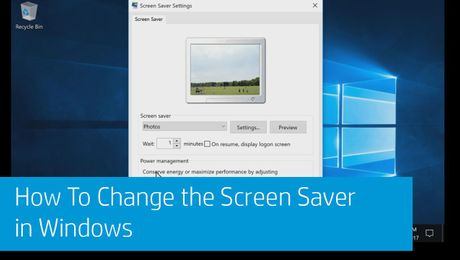 How To Change the Screen Saver in Windows