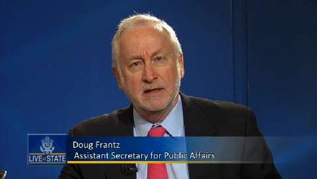 LiveAtState with Assistant Secretary for Public Affairs Doug Frantz