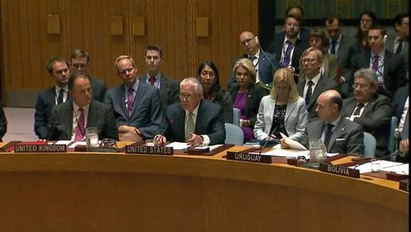 Secretary Tillerson Participates in UN Security Council Session on Nuclear Non-Proliferation
