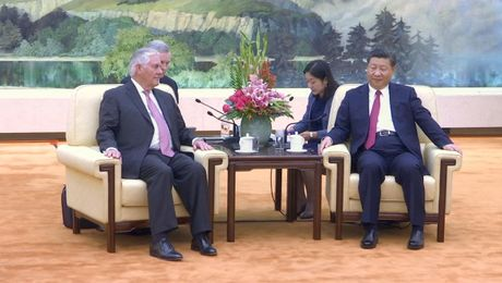 Secretary Tillerson Meets Chinese President Xi Jinping in Beijing