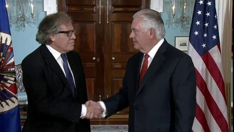 Secretary Tillerson Meets with Organization of American States Secretary General Almagro