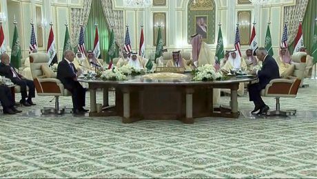 Secretary Tillerson Meets with Saudi and Iraqi Officials in Saudi Arabia