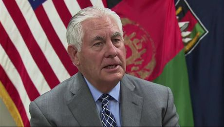 Secretary Tillerson's Remarks at Bagram Airfield, Afghanistan