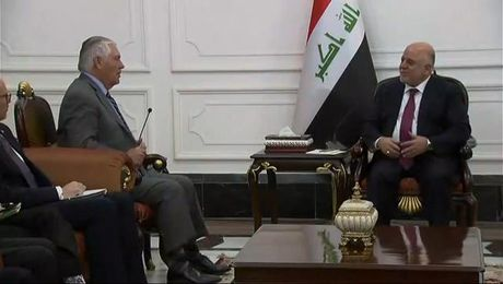 Remarks at the Office of Iraqi Prime Minister Haider al-Abadi