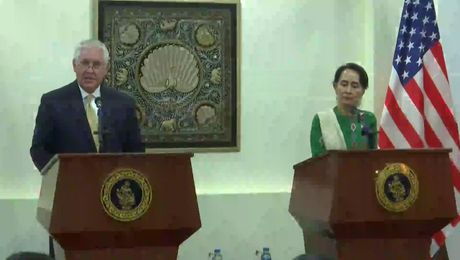 Secretary Tillerson Joint Press Availability with Burmese State Counsellor Aung San Suu Kyi