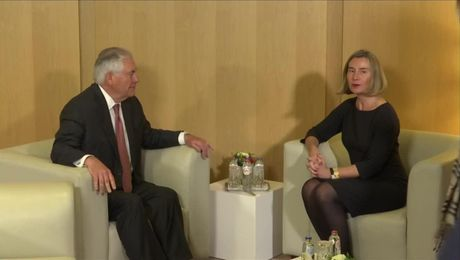 Secretary Tillerson Meets with EU High Representative Federica Mogherini