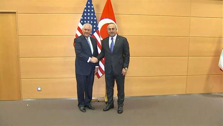 Secretary Tillerson Meets with Turkish Foreign Minister Cavusoglu