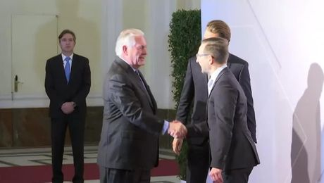 Secretary Tillerson Arrives at the Organization for Security and Co-operation in Europe (OSCE) Summit