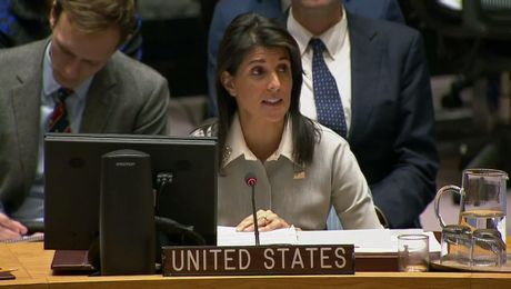 Ambassador Haley's Remarks at the UN Security Council Meeting on Jerusalem