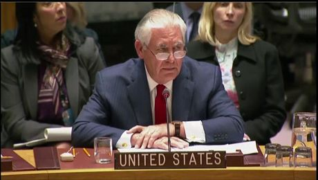 Secretary Tillerson Responds to DPRK Representative at UN Security Council Ministerial Briefing