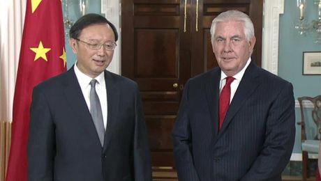 Remarks With Chinese State Councilor Yang Jiechi Before Their Meeting