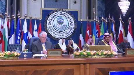 Global Coalition to Defeat ISIS Ministerial (Camera Spray)